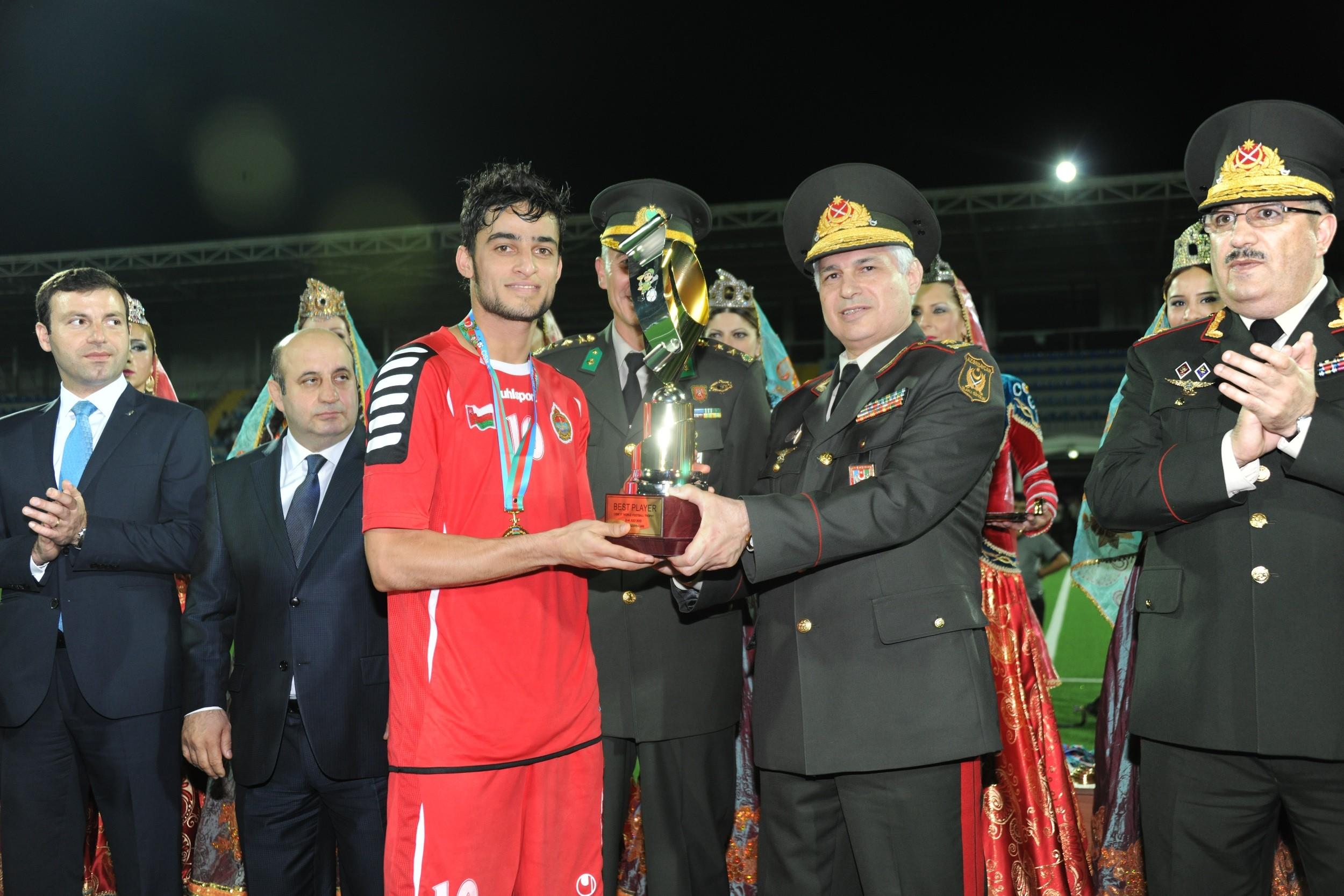 سلطنة عمان تفوز باستضافة كأس العالم العسكري 2017