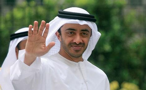 عبدالله بن زايد يبدأ زيارة رسمية إلى الجزائر