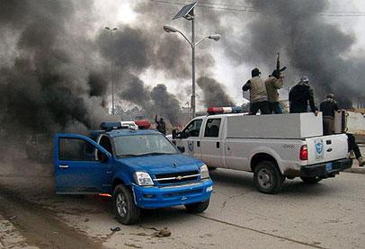 الفلوجة تتعرض لأضخم قصف و هجوم حكومي