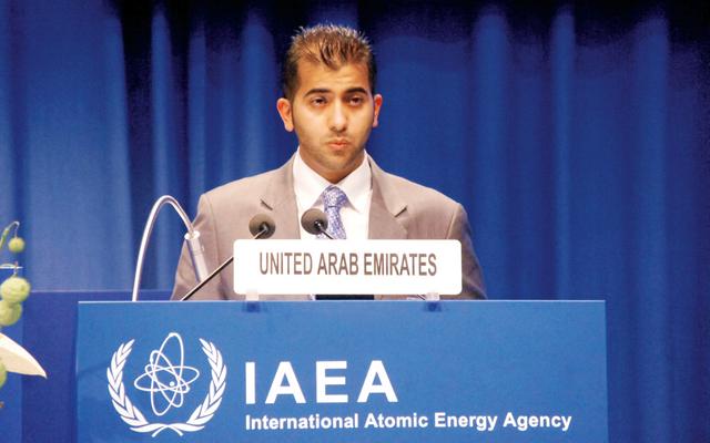 الإمارات تؤكد على حق الدول في تطوير الاستخدام السلمي للطاقة النووية