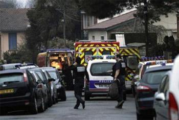 القاء عبوة على معبد يهودي في فرنسا بالتزامن مع العدوان على غزة