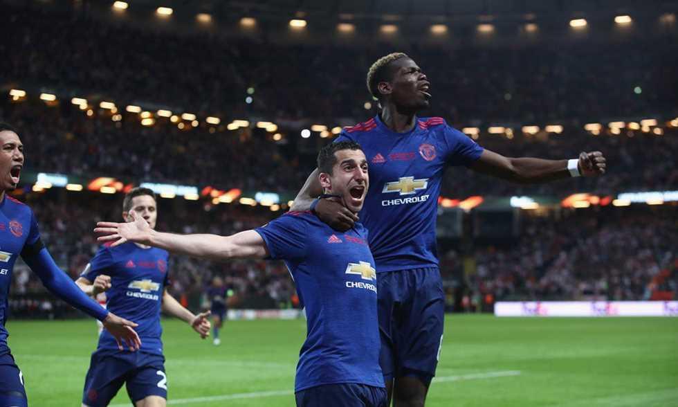 مانشستر يونايتد يتفوق على أياكس ويحرز لقب الدوري الأوروبي