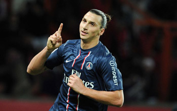 إبراهيموفيتش أفضل لاعب في فرنسا للمرة الثانية