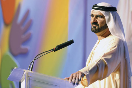 محمد بن راشد يسعى لتحويل دبي إلى متحف مفتوح