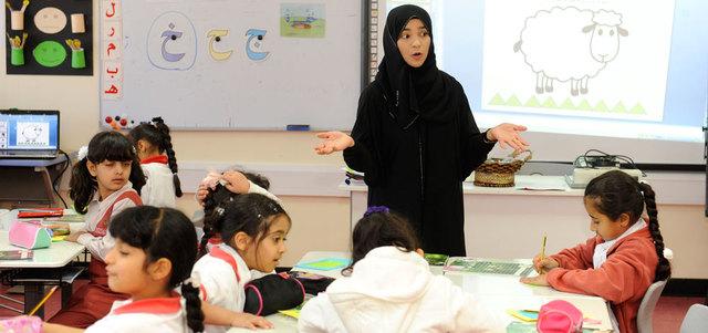 أبوظبي للتعليم يطرح 1500 وظيفة العام الدراسي المقبل