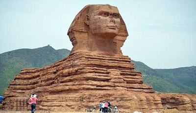 غضب مصري على الصين لصنعها نسخة من أبو الهول