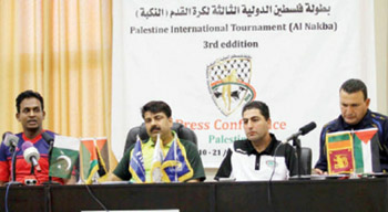 المنتخب الفلسطيني يفوز على نظيره الباكستاني في بطولة النكبة
