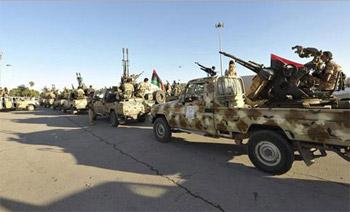 قتيلان وعشرات الجرحى باشتباكات في العاصمة الليبية