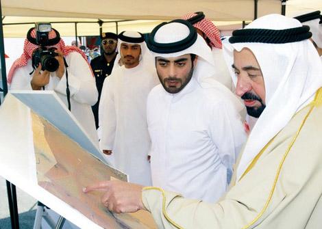 سلطان القاسمي يكشف عن مشاريع جديدة ضمن الشارقة مدينة صحية
