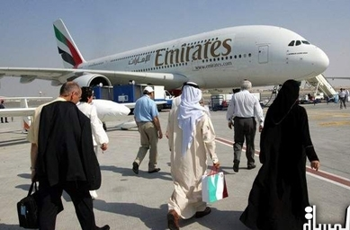 نمو حركة النقل للمسافرين والبضائع في موانئ ومطارات الدولة