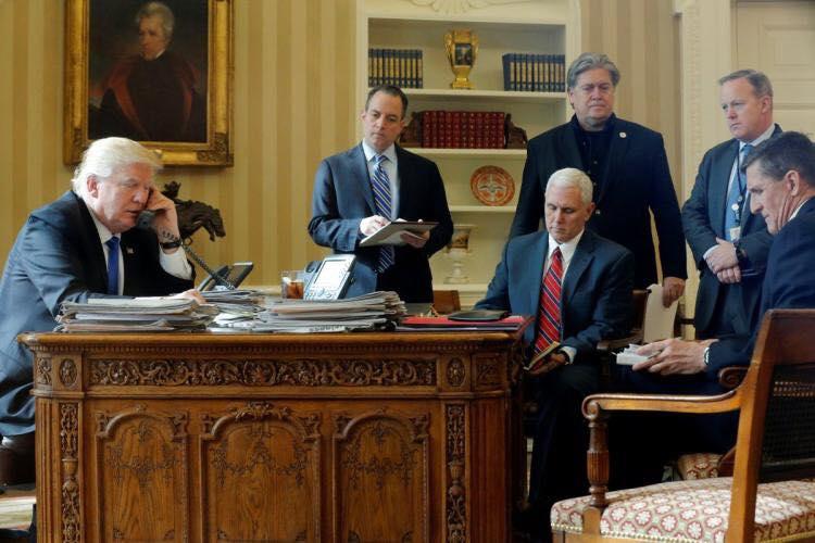 هؤلاء غادروا البيت الأبيض في الأشهر السبعة الأولى لترامب