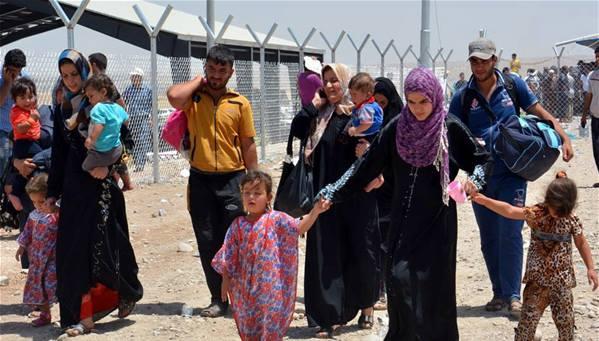 13,6 مليون نازح جراء الحروب في العراق وسوريا