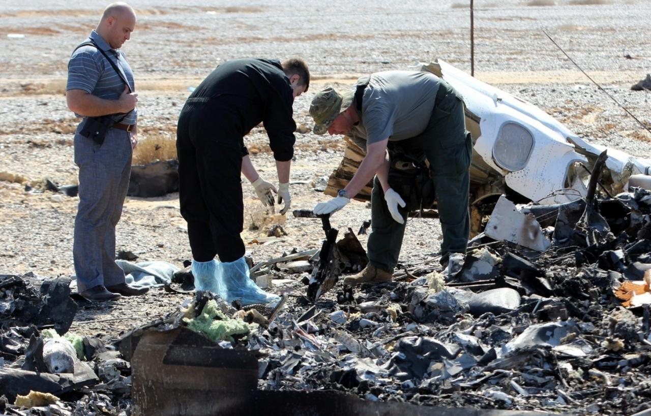 تحقيق الأمن المصري يزعم: لا دليل على سقوط الطائرة الروسية بعمل إرهابي
