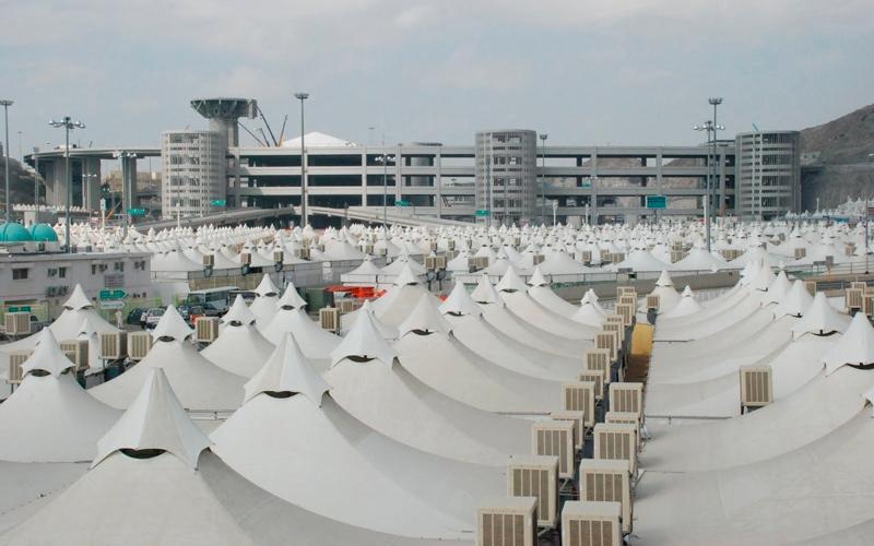 «الشؤون الإسلامية» توفر مخيمات «مقاومة للحرارة» لحجاج الدولة في مكة