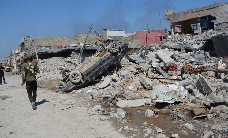 أمنستي: الغارات الجوية للتحالف الدولي في الموصل انتهاك للقانون