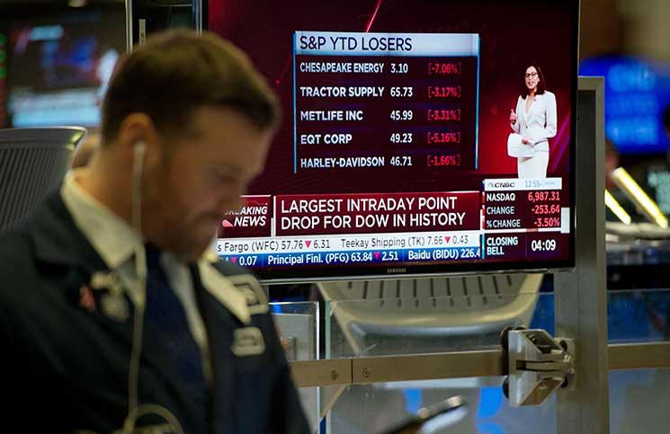 البيت الأبيض بعد تهاوي وول ستريت: الاقتصاد الأمريكي قوي بشكل استثنائي
