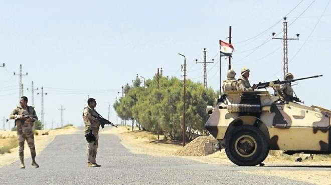 مقتل 15جنيداً مصرياً والرئاسة تعلن الحداد