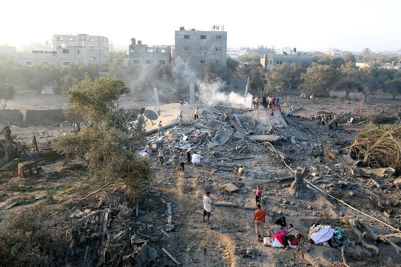 مساعدات عمانية جديدة لغزة