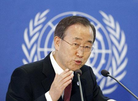 بان كي مون: أطراف الصراع السوري ما زالت تمنع وصول المساعدات للمحتاجين