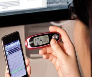 قياس حرارة المريض عبر الهاتف المحمول