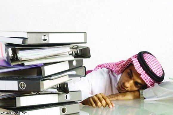 السعوديون يحتلون المرتبة الثالثة عالمياً في  الخمول