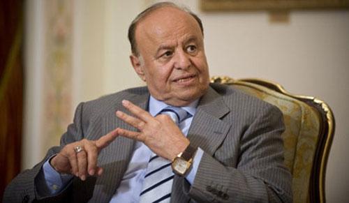 الرئيس اليمني يدعو إيران إلى تحكيم العقل في علاقاتها مع بلاده