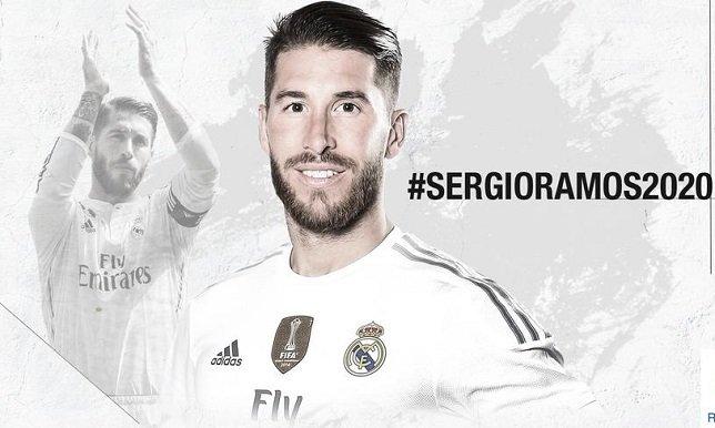 ريال مدريد يعلن عن تجديده عقد راموس