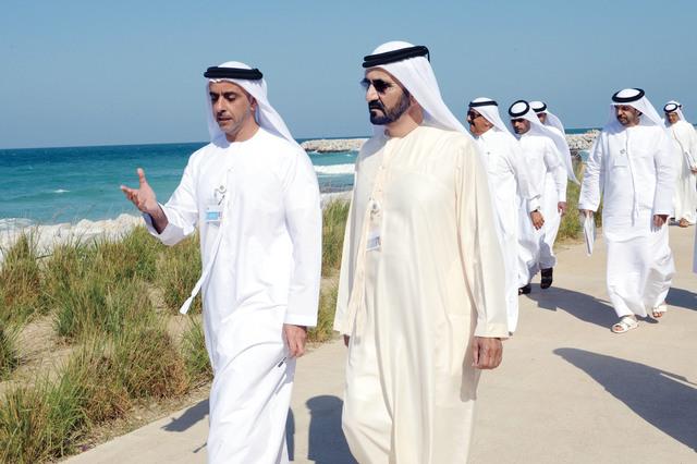 محمد بن راشد يوجه بإنشاء ست محميات طبيعية في إمارة دبي