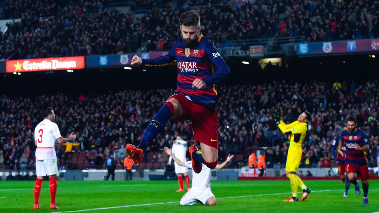 برشلونة يجتاز إشبيلية في ليلة أرقام ميسي بـالليغا