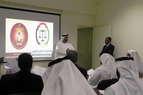 رئيس الاتحاد الدولي للحقوقيين يزور جمعية الإمارات لحقوق الإنسان