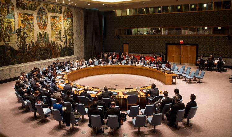 الأمم المتحدة تدرس تجميد عضوية سوريا