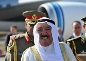 أمير الكويت يصل طهران