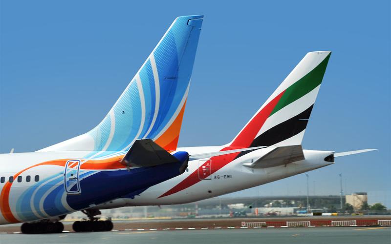 طيران الإمارات وفلاي دبي تعمقان العلاقات