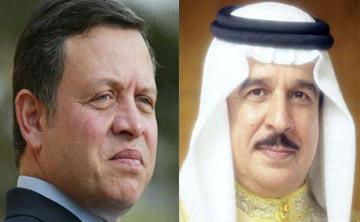 العاهل البحريني يزور الأردن