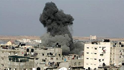 5غارات جوية إسرائيلية على غزة بعد التهدئة الجديدة