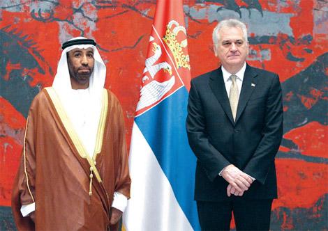 سفير الدولة لدى بلغراد يلتقي وزير الخارجية الصربي