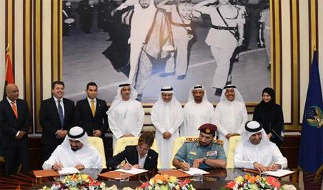 سيف بن زايد يؤكد الحرص على نشر ثقافة الأمن والأمان في الدولة
