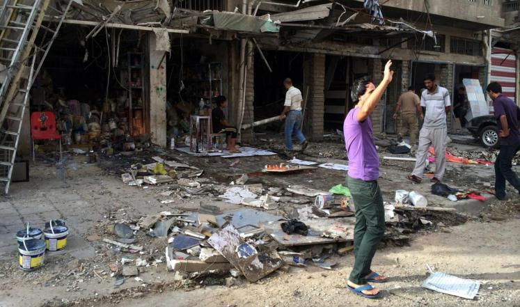 مقتل 18 عراقيا في هجوم استهدف مقراً كردياً