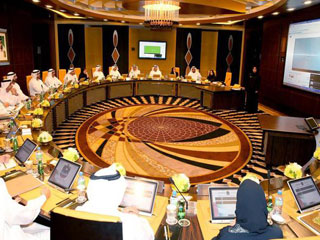 محمد بن راشد يطلق قناة حكومة الإمارات على موقع يوتيوب