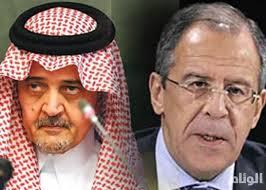 وزير الخارجية الروسي يهاتف نظيره السعودي