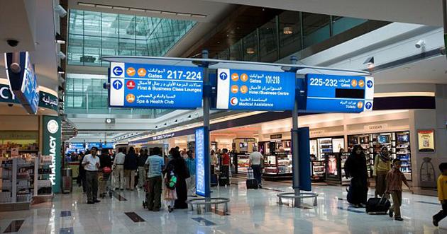زيادة حركة السفر عبر مطار دبي 10.3% في سبتمبر