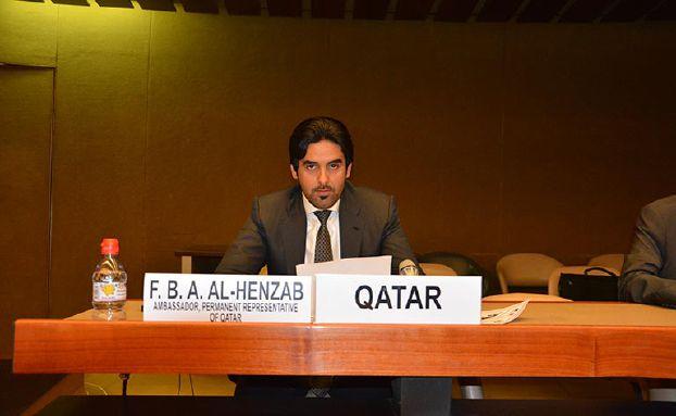 قطر تنتقد تعامل المجتمع الدولي مع جرائم النظام السوري