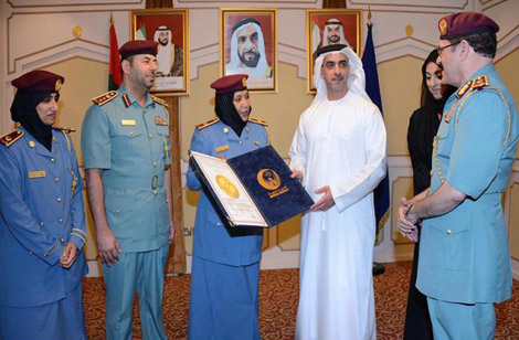 شرطة أبوظبي تنال أعلى شهادة دولية في الرعاية الصحية
