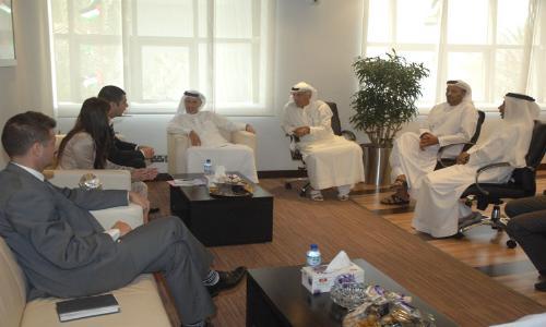 وفد صريبي يزور اتحاد الكرة الإماراتي