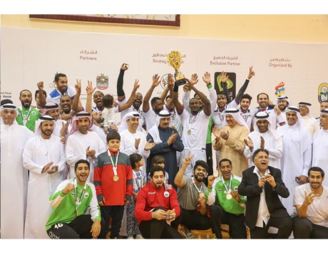 الشارقة يتوج بطلاً لكرة اليد بكأس الإمارات