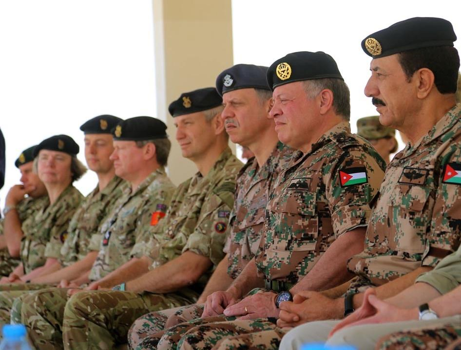قوات بريطانية وأردنية تنفذ تمريناً عسكرياً مشتركا