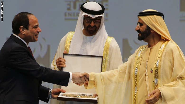 السيسي يتصل بملوك وأمراء الخليج لتجاوز فضيحة التسريبات