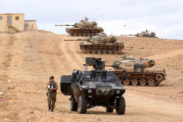 تركيا تطلق عملية عسكرية واسعة شمال سوريا