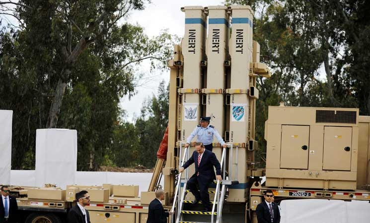 """إسرائيل تدشن منظومة """"الصولجان السحري"""" للدفاع الجوي"""
