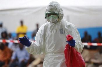 منظمة الصحة العالمية تتوقع 10 آلاف إصابة بـ إيبولا أسبوعيا
